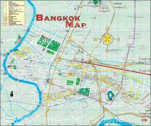 Map - Bangkok