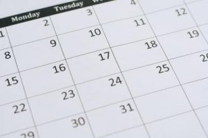 Calendar ปฏิทิน